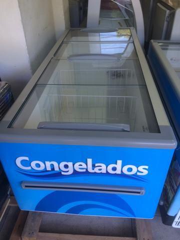 Ilha /freezer para congelados ou resfriado 2,00m Fricon-supermercado/padaria - Foto 5