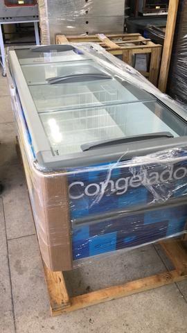 Ilha /freezer para congelados ou resfriado 2,00m Fricon-supermercado/padaria