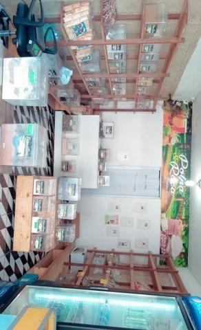 Passo loja de produtos naturais no centro de lauro