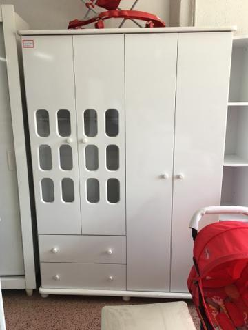 Guarda roupa para criança usado todas as peças desmontadas
