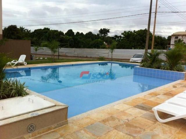 Garden Club, Apto 403 BL 11 para locação, Nova Esperança, Porto Velho. - Foto 4