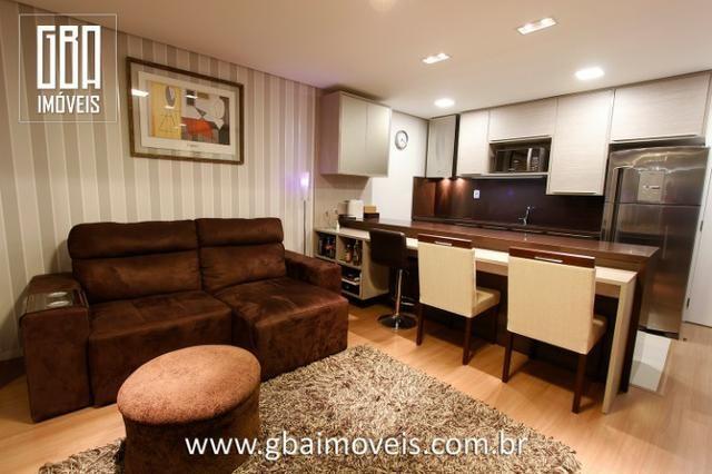 Studio Residence 100% mobiliado, 1 dorm, sacada e 1 vaga - Pelotas/RS - Foto 5