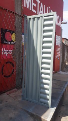 Porta galvanizada - Foto 2