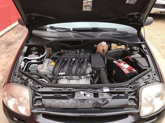 Clio sedan 2003 1.6 RT completo - Foto 16