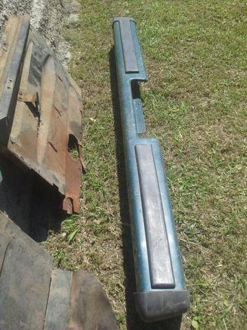 Parachoque D20 traseiro até 1989 A20 A20 Chevrolet Bonanza veraneio