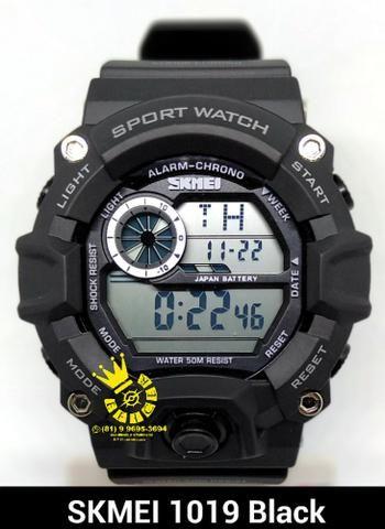 2b20ab3dbfb Relógio Militar Masc Skmei 1019 sport Prova Dágua Entrega Gratis  4x  s juros 996953694