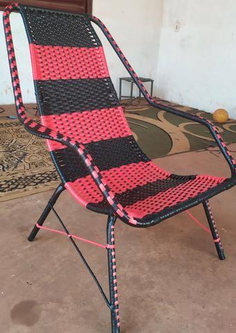 Reforma de cadeiras em fibra sintética - Foto 5