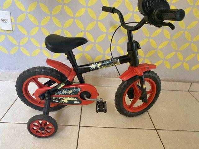Bicicleta infantil (semi nova) - Foto 2