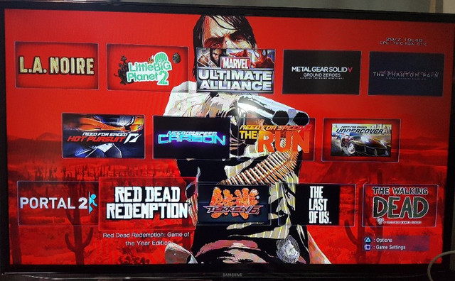 Playstation 3 PS3 Fat Branco HD 1Tb com mais de 50 jogos Novinho - Foto 2