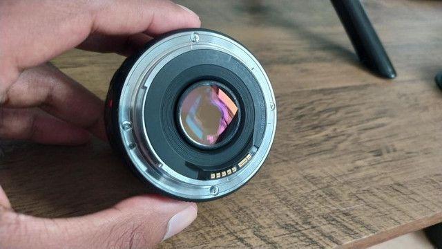 Lente Canon 50mm 1.8 STM + Para sol - Foto 4