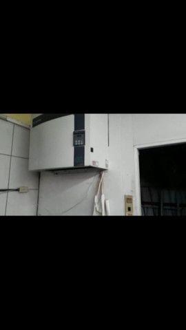 Câmara frigorífica trifásica