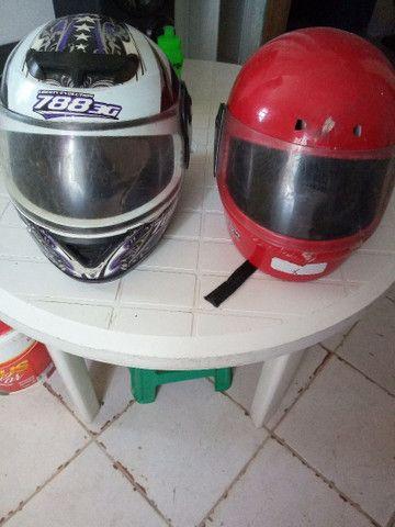 Vendo esses dois capacete