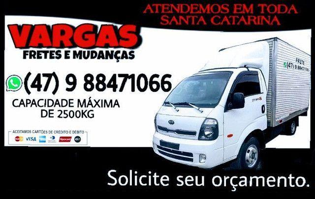 FAÇO FRETE EM TODA SC PR RG. - Foto 2