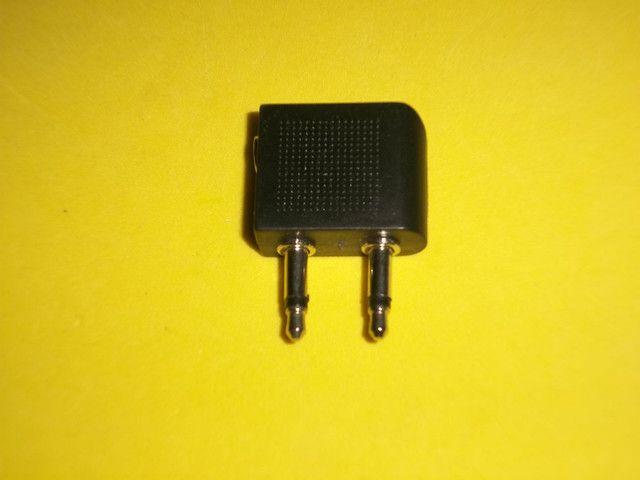 Adaptador P3 fêmea para 2 (P2 macho 3,5mm)