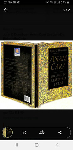Livro ANAM CARA Sabedoria Celta - Foto 2
