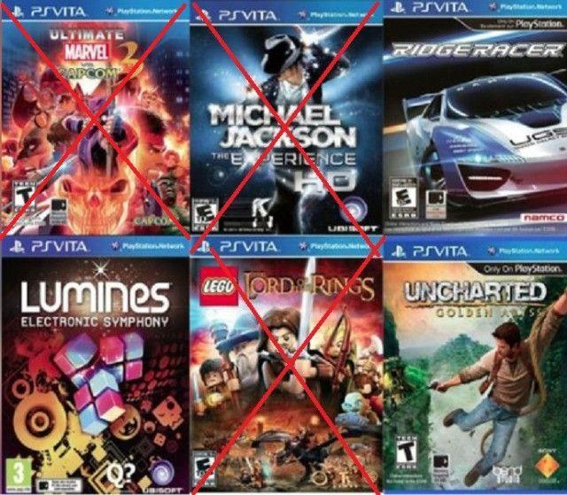 Jogos PS3 e PSvita originais - Foto 4