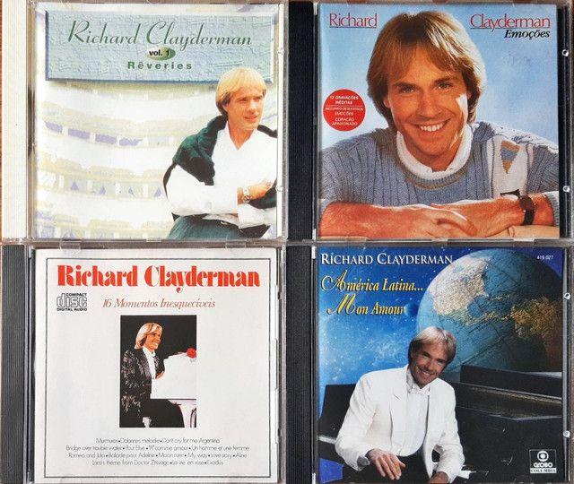CDs RICHARD CLAYDEMAN originais