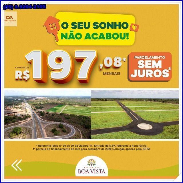 Lotes com construção liberada as margens da BR-116 Loteamento Boa Vista!! - Foto 12