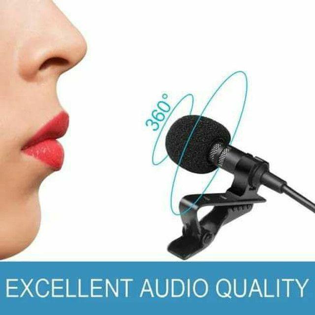 Microfone p/ smartphone notebook pc etc  - Foto 3
