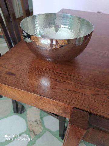 4 potes decorativos de aço inox - Foto 3