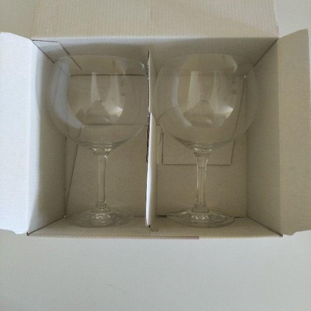 Conjunto de taças de Gin de cristal