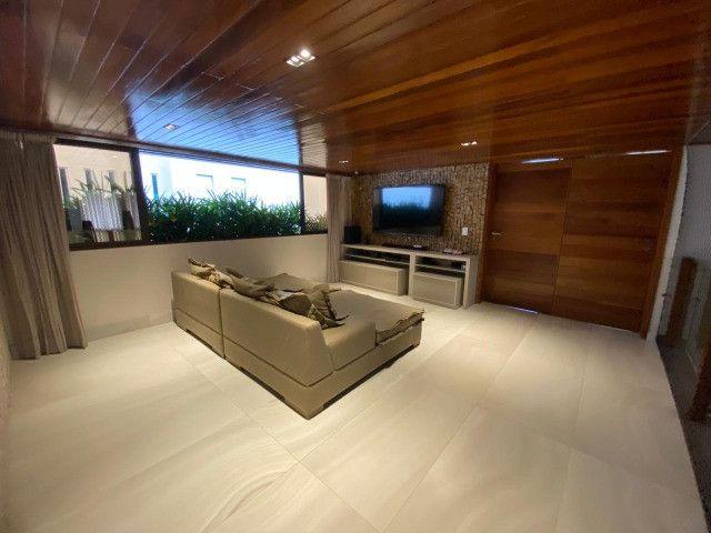 Casa belíssima a venda no Bosque das Gameleiras - 04 suítes - 538m - Luxo! - Foto 13
