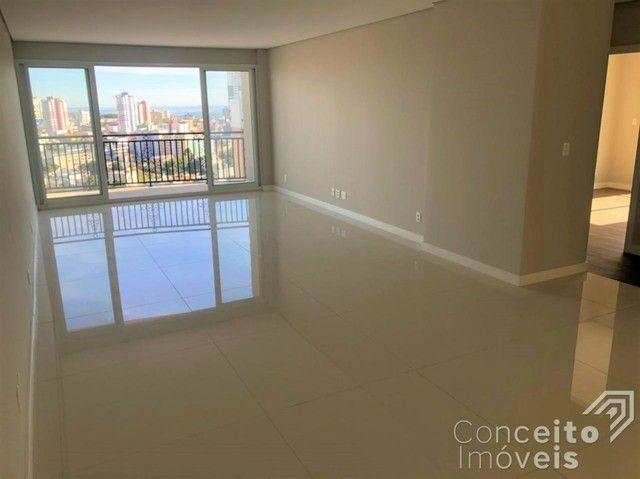 Apartamento à venda com 3 dormitórios em Jardim carvalho, Ponta grossa cod:392629.001 - Foto 5