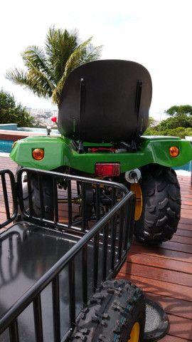 Mini Trator à Gasolina 110cc - Novo - Foto 6