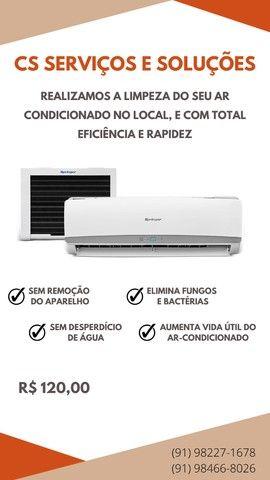 Higienização de Ar Condicionado no local e com Garantia