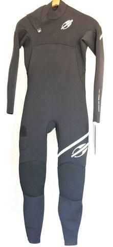 Roupa borracha surfe neoprene 1mm mormaii flexxa pro U V suit de verão loja actifit - Foto 2