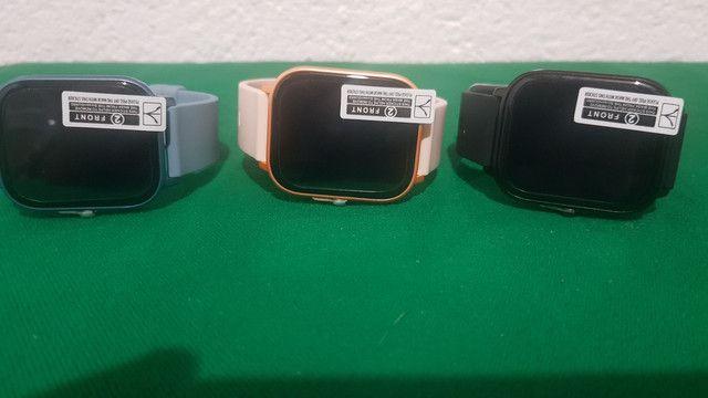 Smartwatch P8 + película protetora - Foto 4