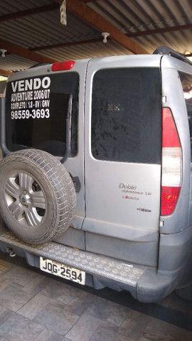 Doblô adventure 2006 / 2007 completo e com GNV R$ 20.000 - Foto 9