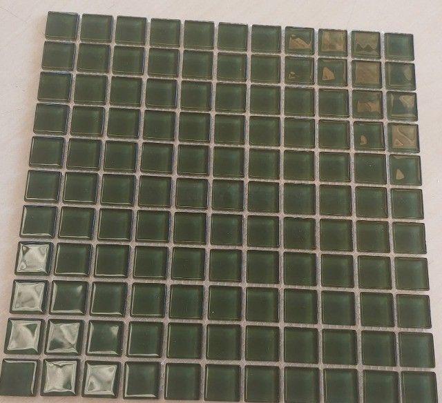 Pastilha de vidro 30x30 A089 Algas 2,5x2,5-Primeira Linha