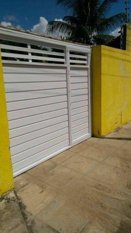 Portão alumínio branco r$399 o metro quadrado - Foto 5