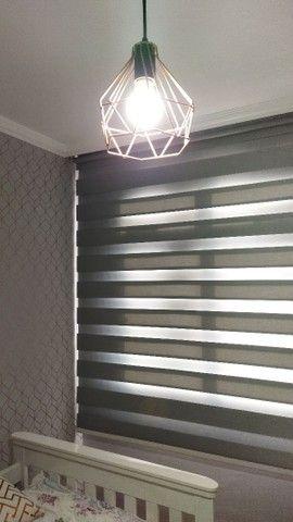 Persianas, cortinas e papel de parede