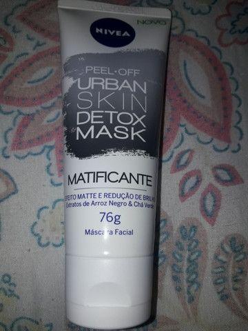 Máscara matificante nívea urban,skin detox mask