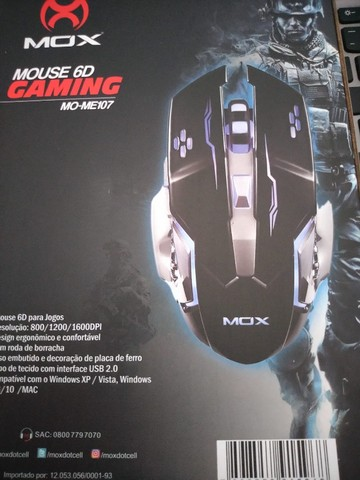 Mouse Gamer 6D  MOX