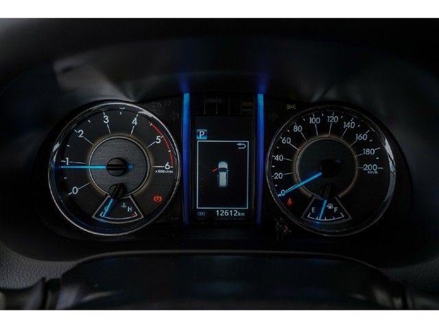 Toyota Hilux Sw4 2.8 SRX 4X4 7 LUGARES 16V TURBO INTERCOOLER DIESEL 4P AUTOMÁTICO - Foto 13
