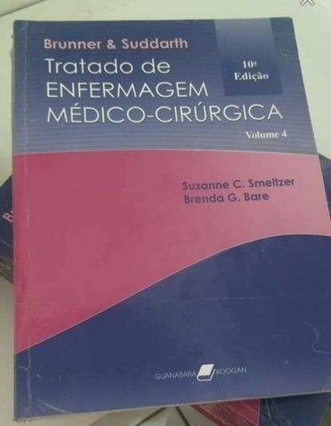 Coleção dos Livros de Brunner Médico-Cirurgico