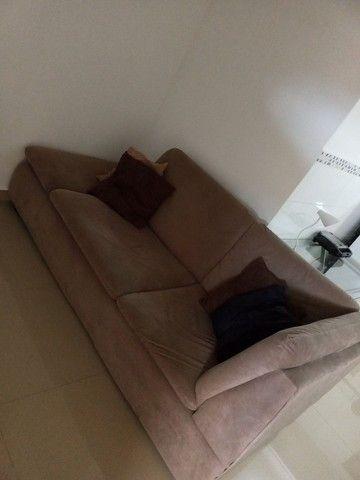Sofá + almofadas