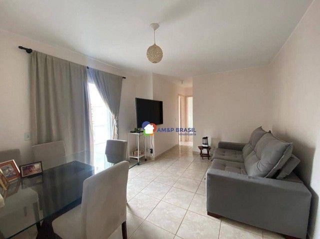 Apartamento com 2 dormitórios à venda, 58 m² por R$ 225.000,00 - Setor Negrão de Lima - Go - Foto 2
