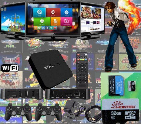 TV Box com jogos Arcade