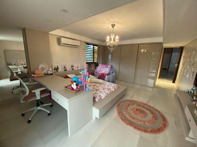 Casa belíssima a venda no Bosque das Gameleiras - 04 suítes - 538m - Luxo! - Foto 8