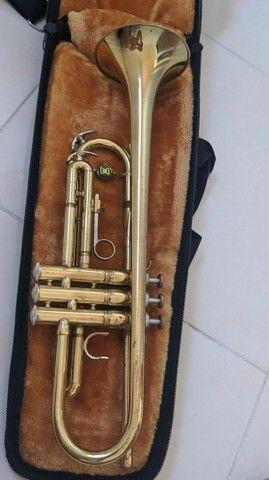 Vendo trompete em perfeito estado! - Foto 3