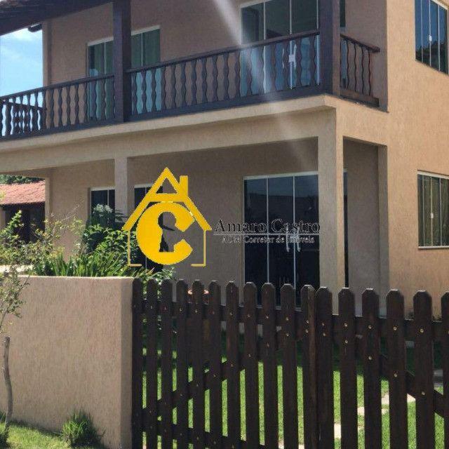 COD 520 - Casa em condomínio Vovó Mercedes em São Pedro da Aldeia