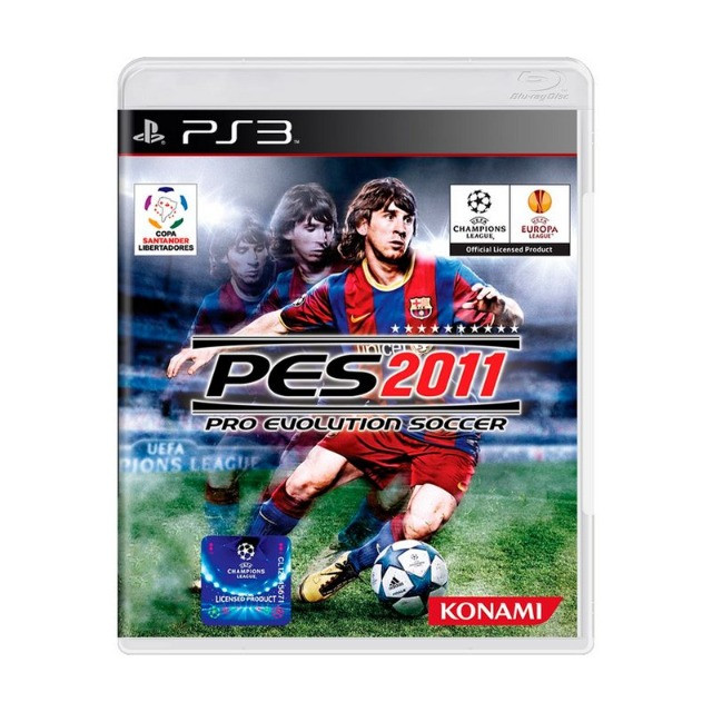 PES 2011 Game PS3