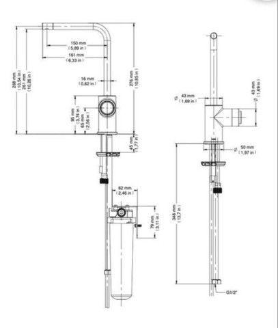 Purificador De Água Docol Docolvitalis De Bancada 810406 - Foto 2