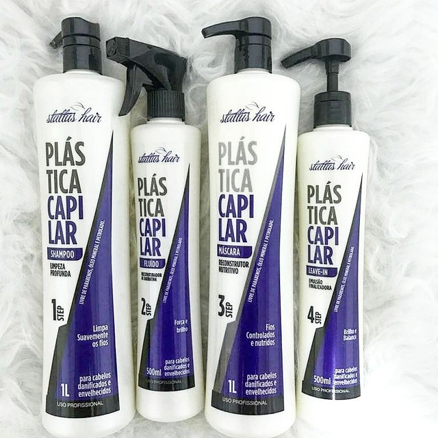 Kit Profissional Plástica Capilar - Hidratação Ultra Profunda - Foto 3