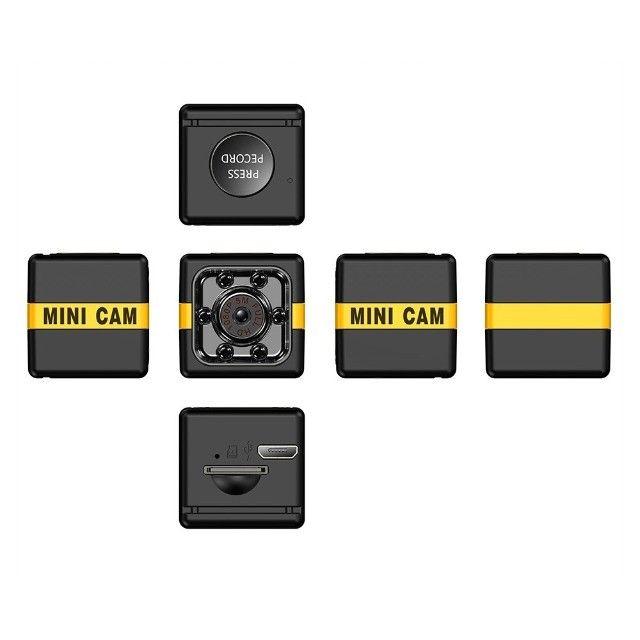 Mini Câmera de Segurança Full HD 1080P Com Visão Noturna - Foto 2