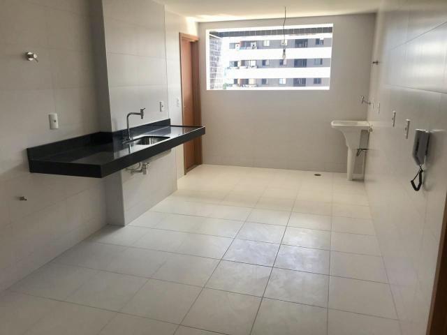 Apartamento novo Edf Milano 140m - Jatiúca - Foto 6